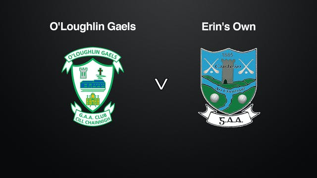 KILKENNY SHC QF O'Loughlin Gaels v Erin's Own