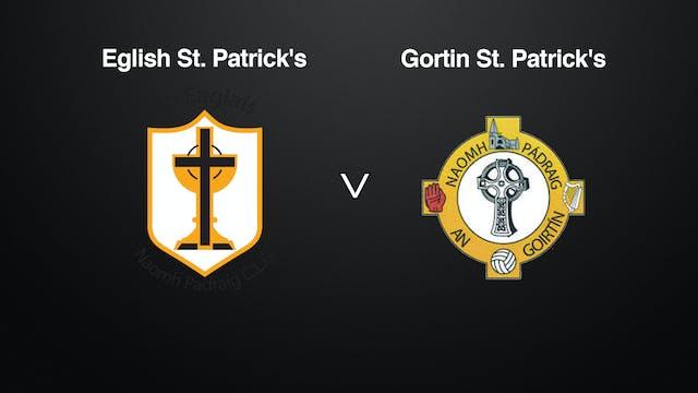 TYRONE IFC Eglish St Patricks v Gortin St Patricks