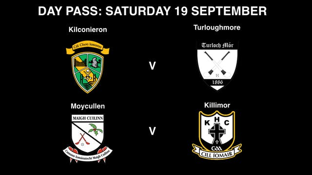 GALWAY IHC Semi-Finals Saturday 19/09