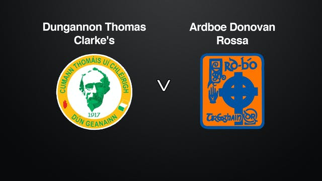 TYRONE SFC Dungannon v Ardboe Donovan Rossa