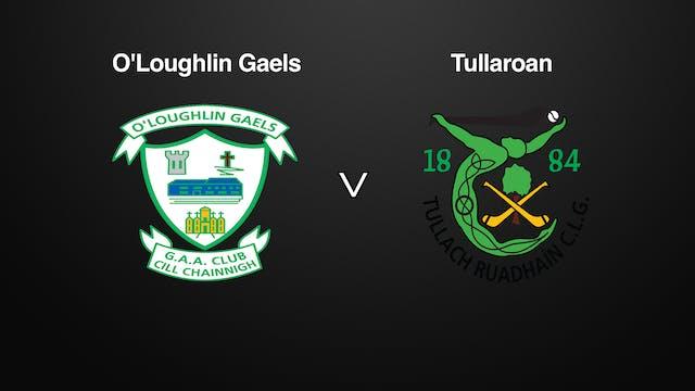 KILKENNY SHC SF O'Loughlin Gaels v Tullaroan