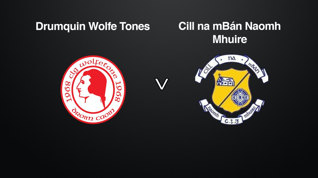 TYRONE JFC Drumquin Wolfe Tones v Cill na mBán