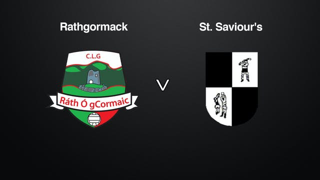 WATERFORD SFC Rathgormack v St. Savio...