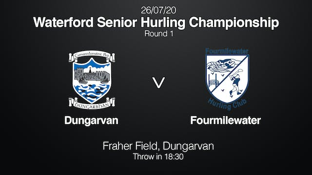 WATERFORD SHC - Dungarvan v Fourmilewater