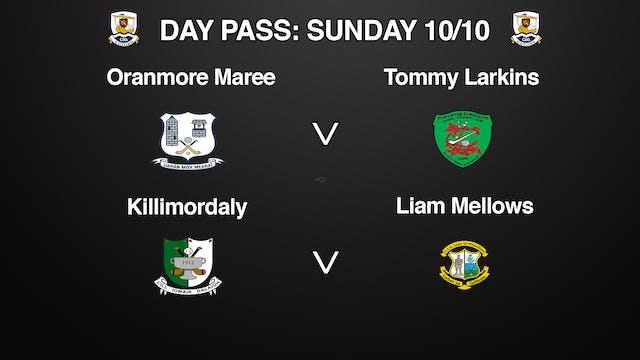 GALWAY SHC 2 Game Day Pass Sunday 10/10