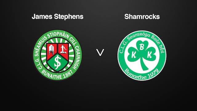 KILKENNY SHL, James Stephens v Shamrocks