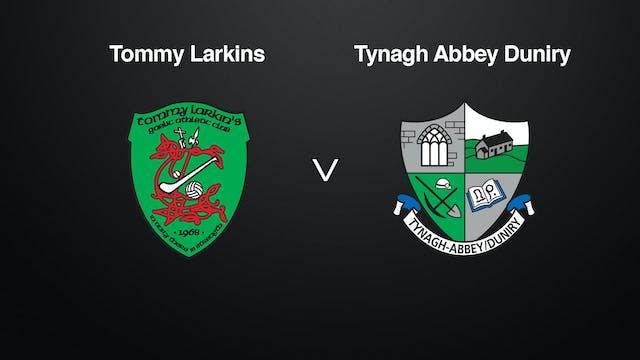 GALWAY SHC Tommy Larkins v Tynagh Abb...