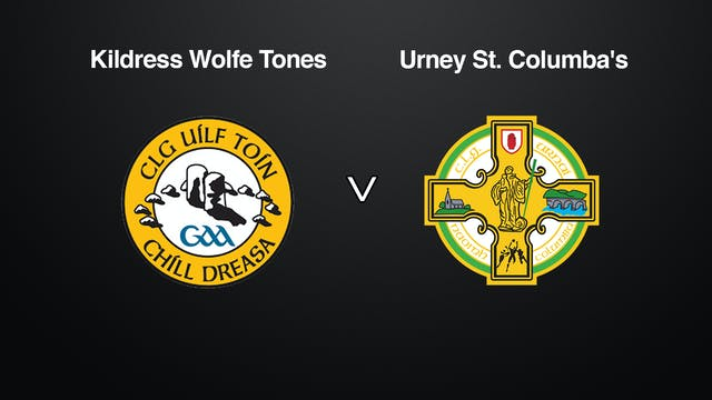 TYRONE JFC Kildress Wolfe Tones v Urney St Columba