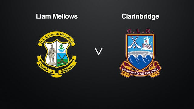 GALWAY SHC Liam Mellows v Clarinbridge