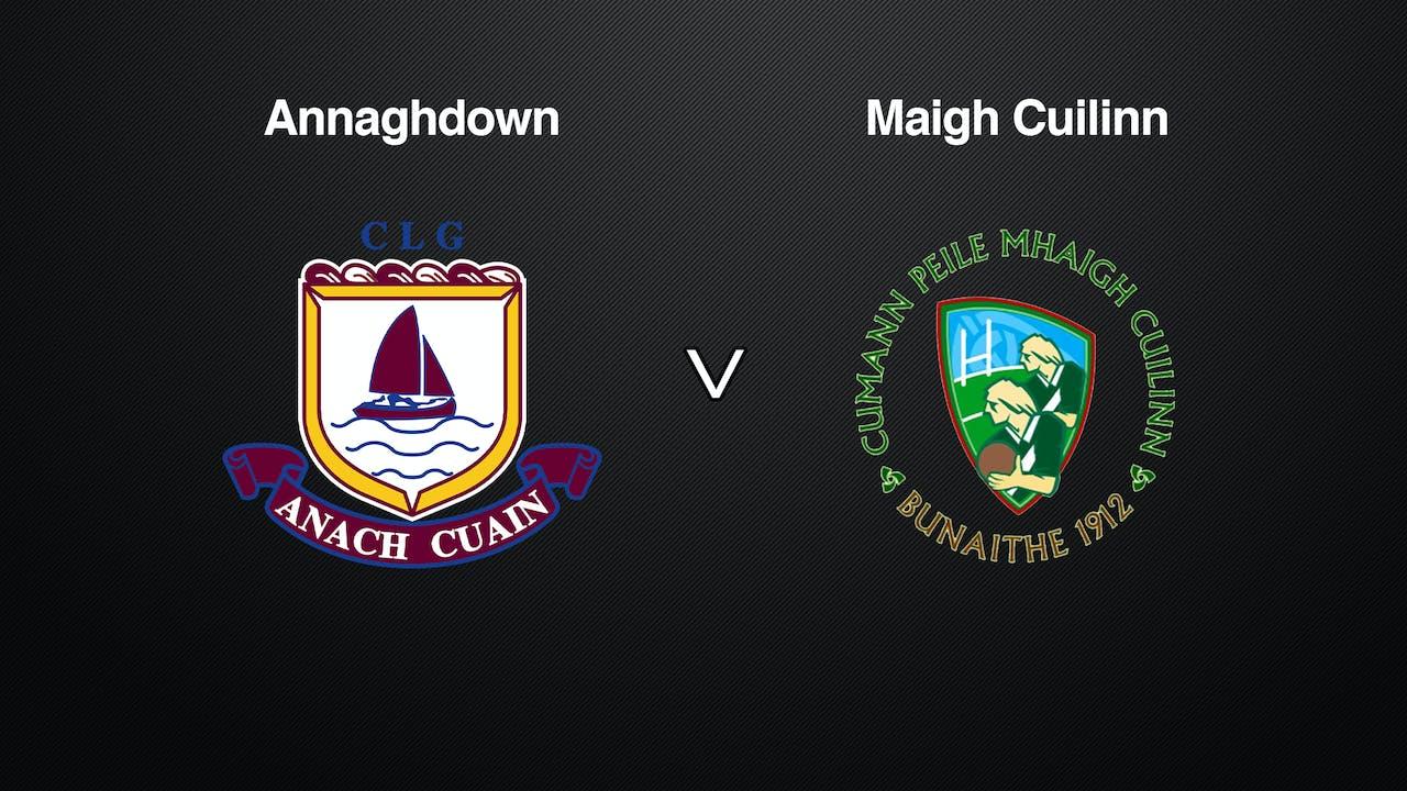 GALWAY SFC Annaghdown v Maigh Cuilinn