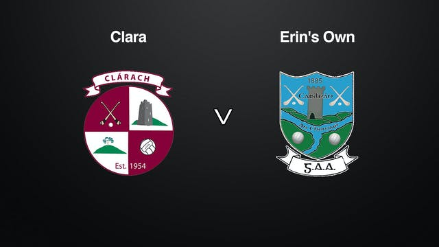 KILKENNY SHL Clara v Erin's Own