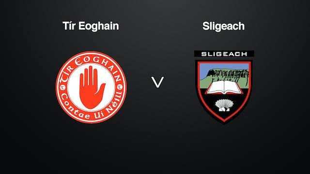 ALLIANZ HURLING LEAGUE DIV 3A Tyrone v Sligo
