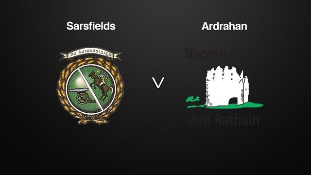 GALWAY SHC Sarsfields v Ardrahan