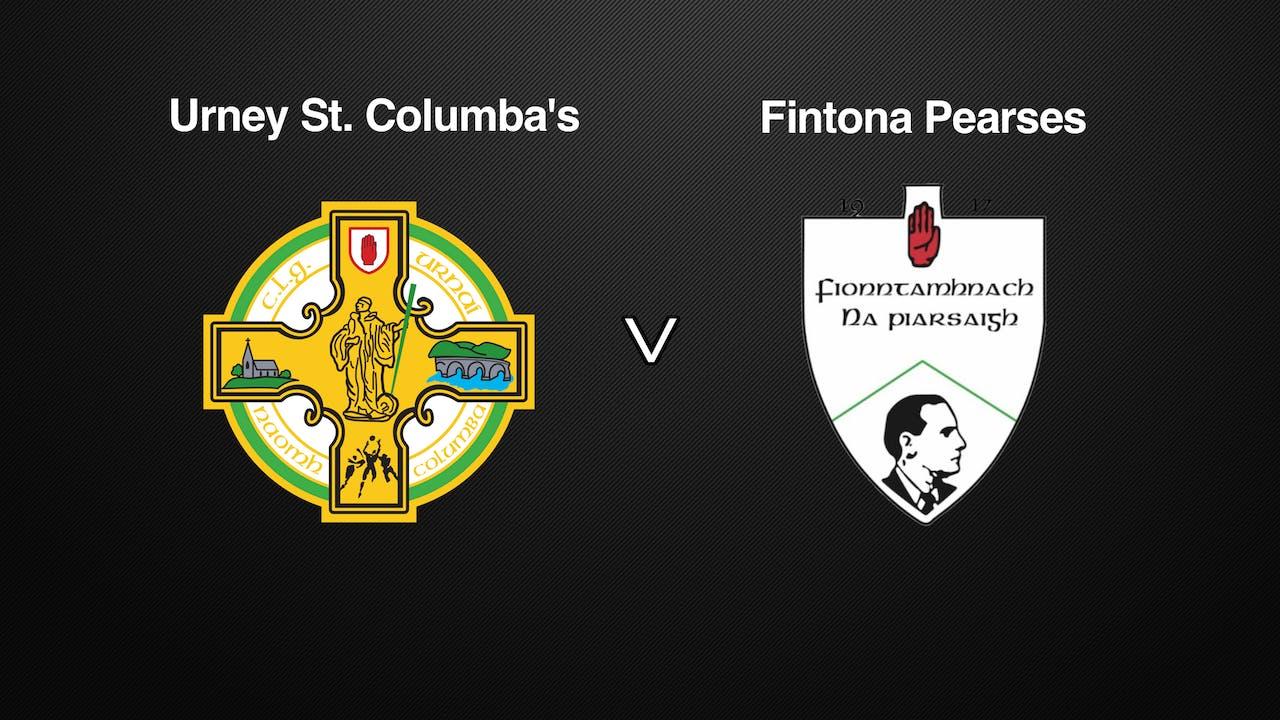 TYRONE JFC, Urney St. Columba's v Fintona Pearses