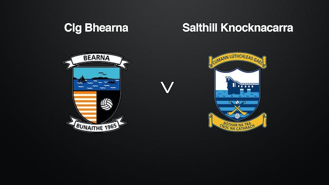 GALWAY SFC Clg Bhearna v Salthill Kno...