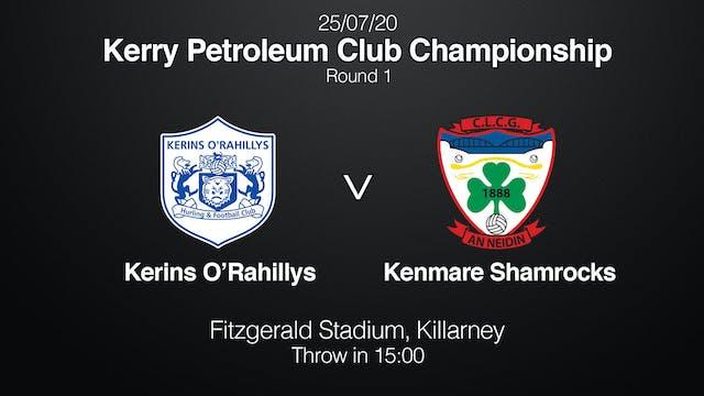 KERRY CLUB CHAMPIONSHIP Kerins O'Rahillys v Kenmare
