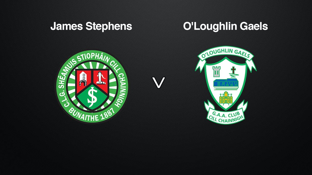 KILKENNY SHL James Stephens v O'Loughlin Gaels