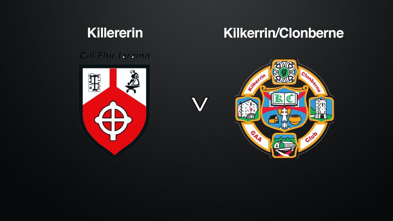 GALWAY IFC SF Killererin v Kilkerrin/Clonberne