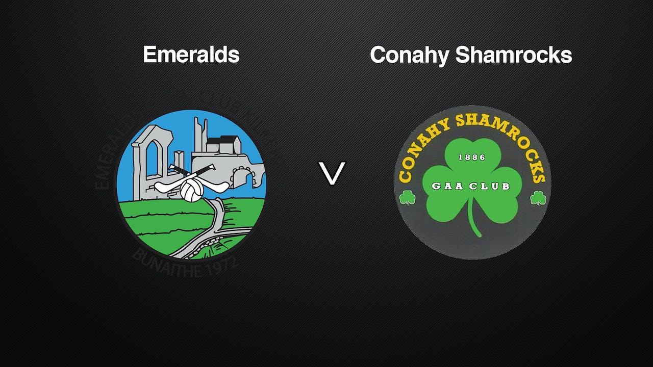 KILKENNY JHC SF Emeralds v Conahy Shamrocks
