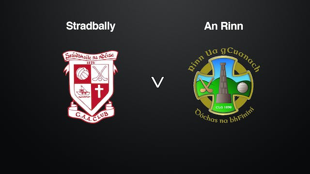 WATERFORD SFC Stradbally v An Rinn