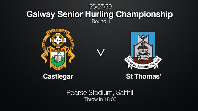 GALWAY SHC Castlegar v St Thomas'