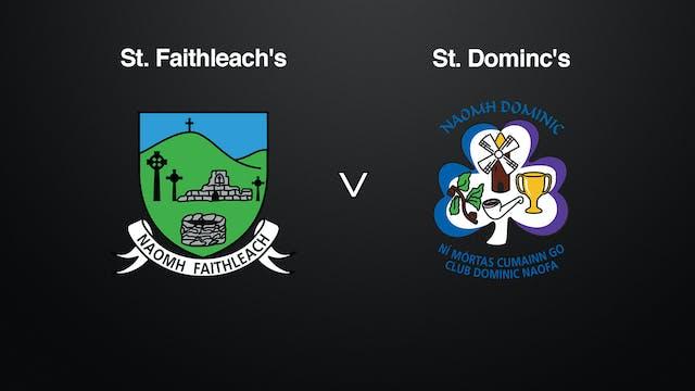 ROSCOMMON IFC SF St. Faithleach's v St. Dominic's