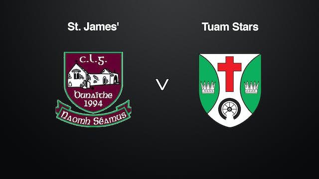 GALWAY MBFC Final St. James' v Tuam S...