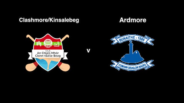 WATERFORD SFC Clashmore/Kinsalebeg v ...