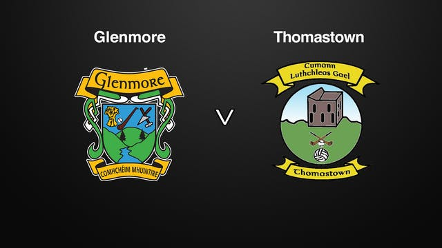 KILKENNY IHL Final Glenmore v Thomastown