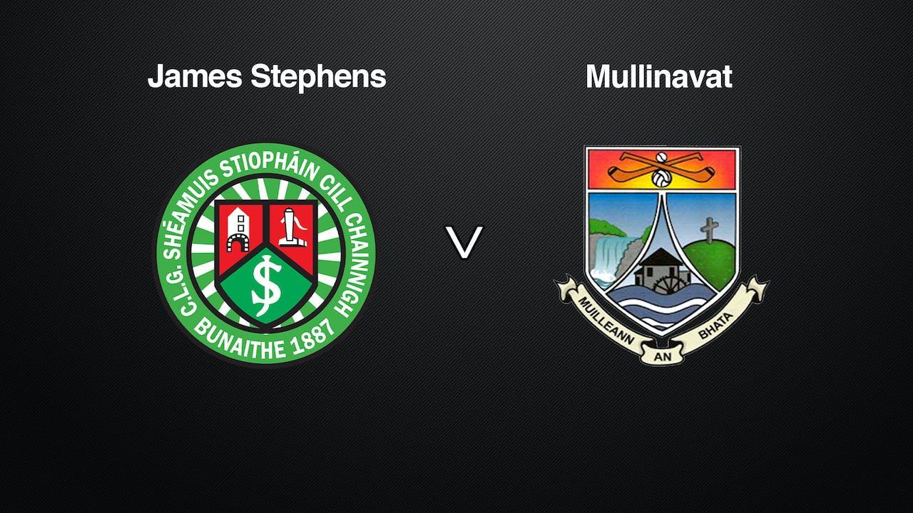 KILKENNY SHC QF James Stephens v Mullinavat