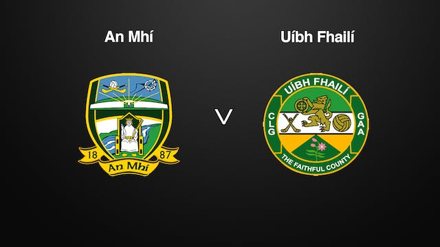 NATIONAL HURLING LEAGUE DIVISION 2A-Meath v Offaly