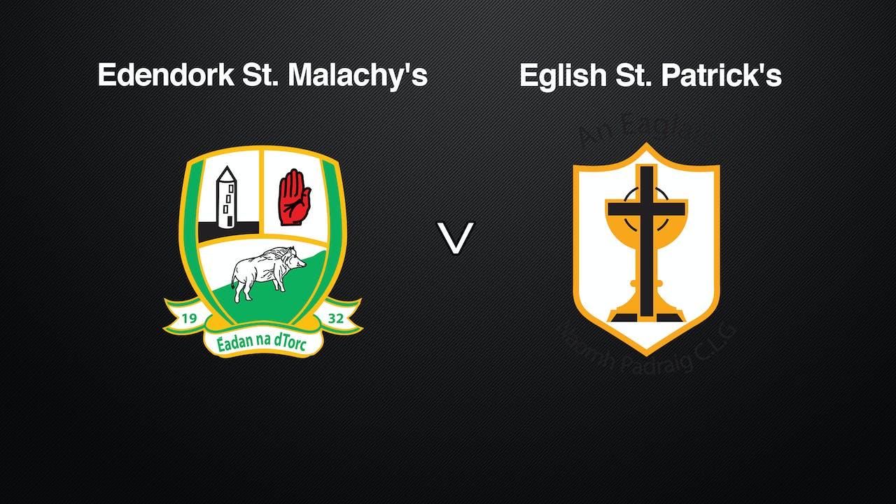 TYRONE Int. Div 2 League Final, Edendork v. Eglish