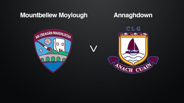 GALWAY Claregalway Hotel SFC Mountbellew Moylough v Annaghdown