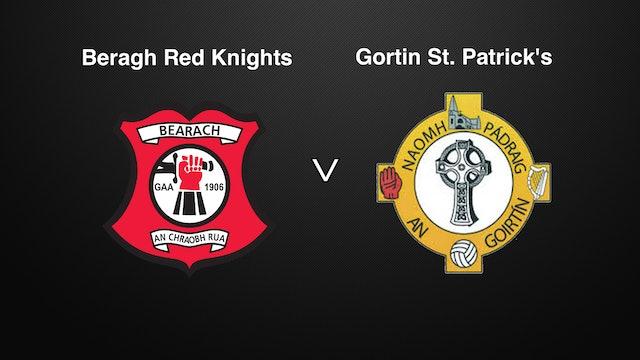 TYRONE IFC QF Beragh Red Knights v Gortin St. Patrick's