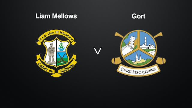 GALWAY SHC Liam Mellows v Gort