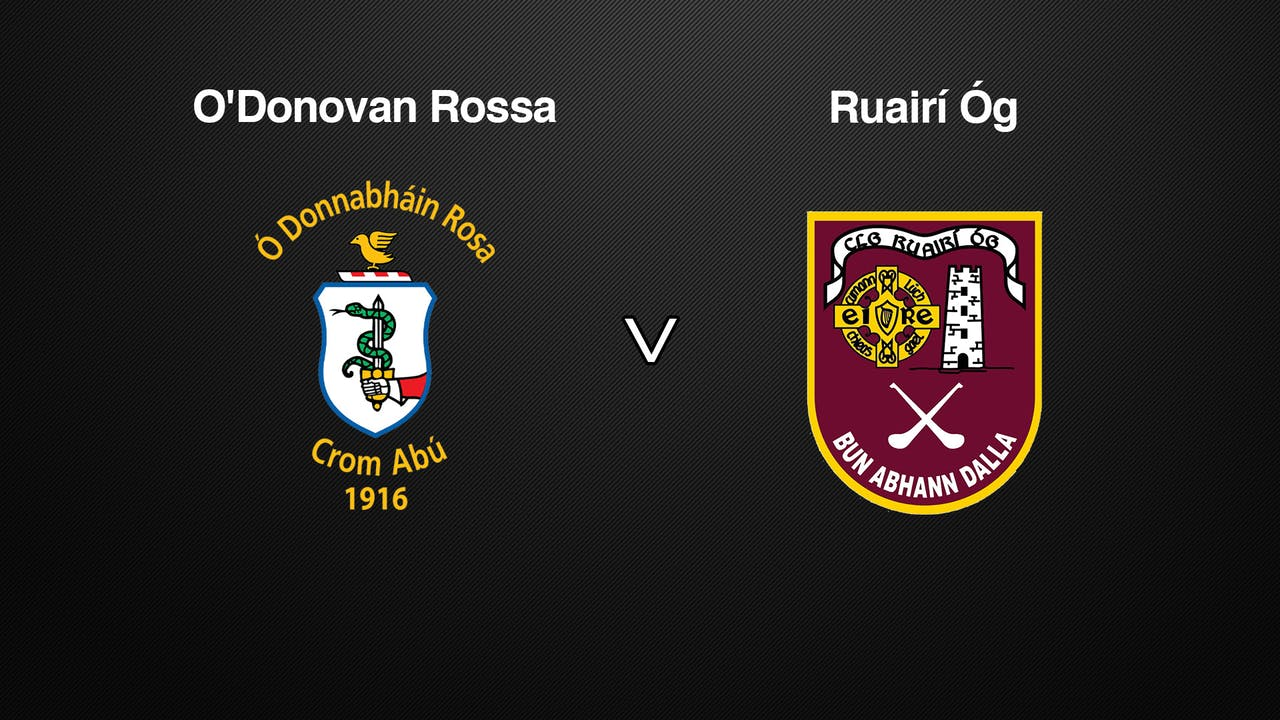 ANTRIM SH QF O'Donovan Rossa v Ruairí Óg