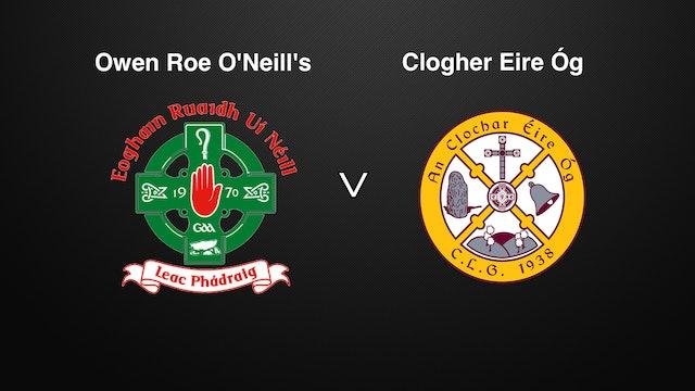 TYRONE IFC QF Owen Roe O'Neill's v Clogher Eire Óg