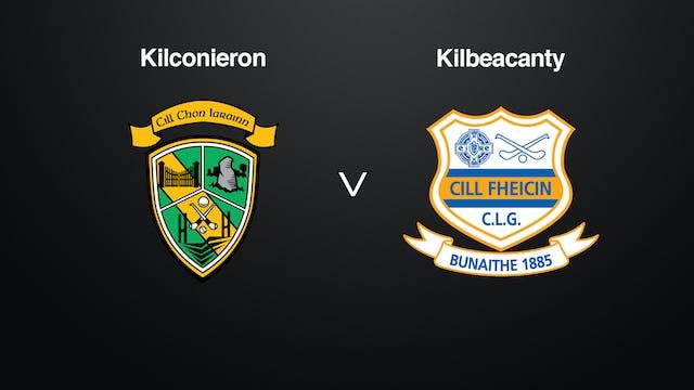 GALWAY IHC QF Kilconieron v Kilbeacanty