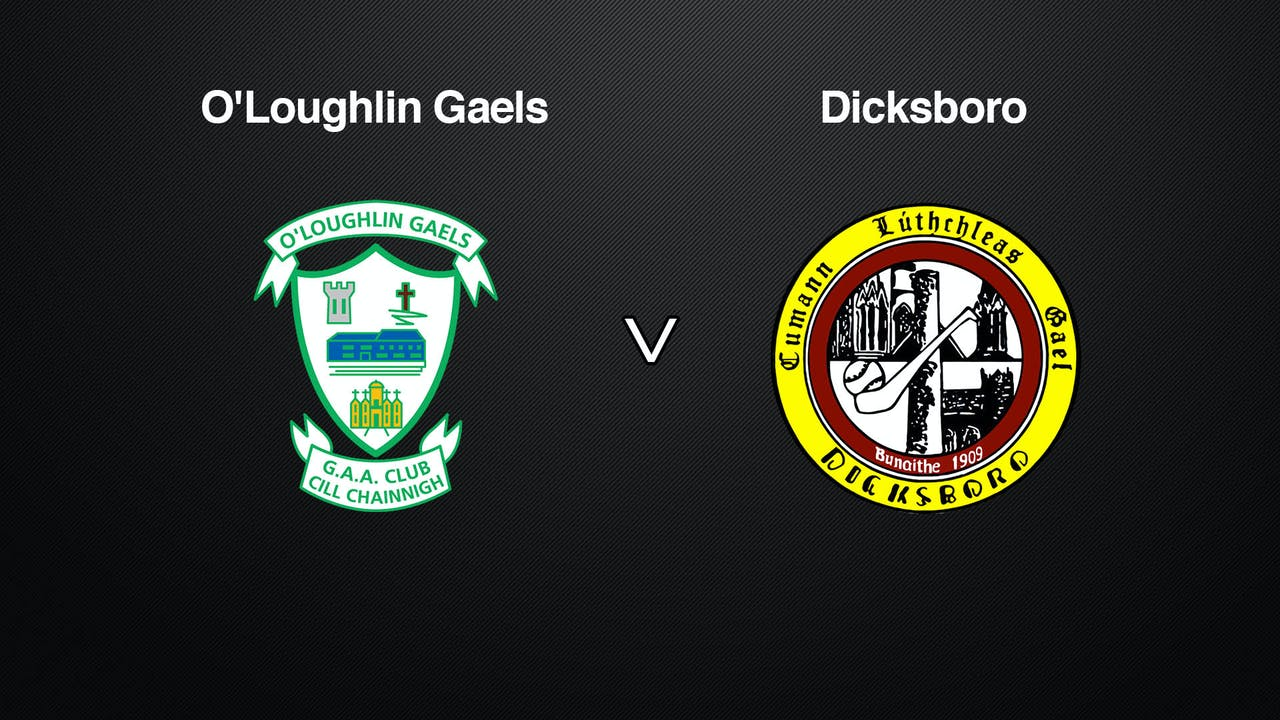 KILKENNY SHL Final O'Loughlin Gaels v Dicksboro