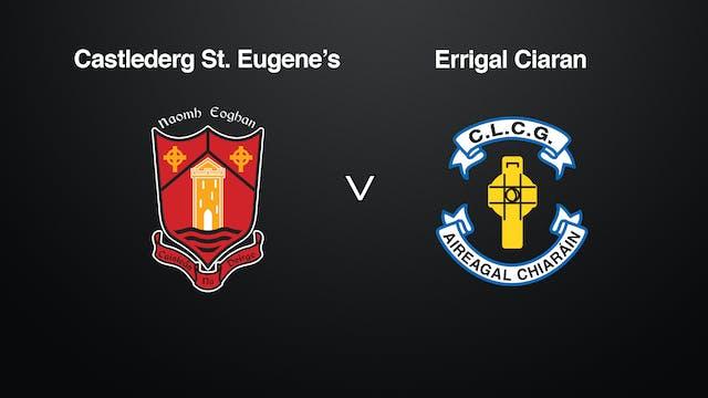 TYRONE JFC Castlederg St Eugene's v Errigal Ciaran