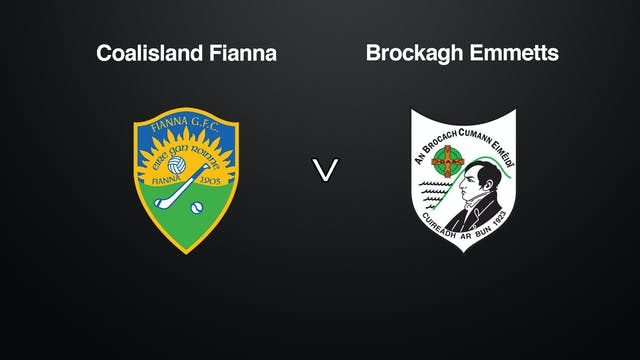 TYRONE JFC Coalisland Fianna v Brocag...
