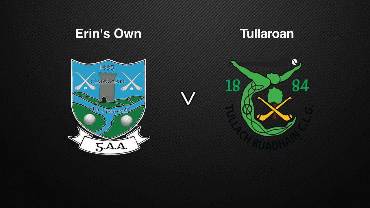 KILKENNY SHC Erin's Own v Tullaroan