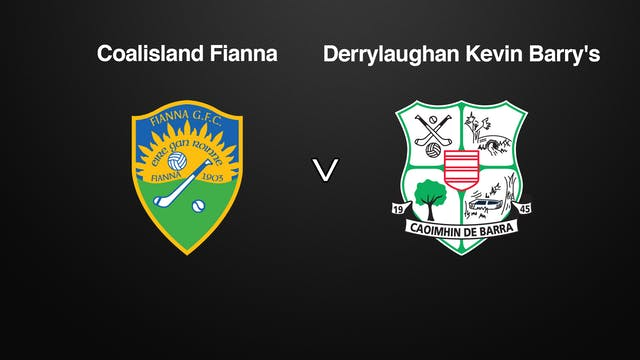 TYRONE SFC Coalisland Fianna v Derryl...