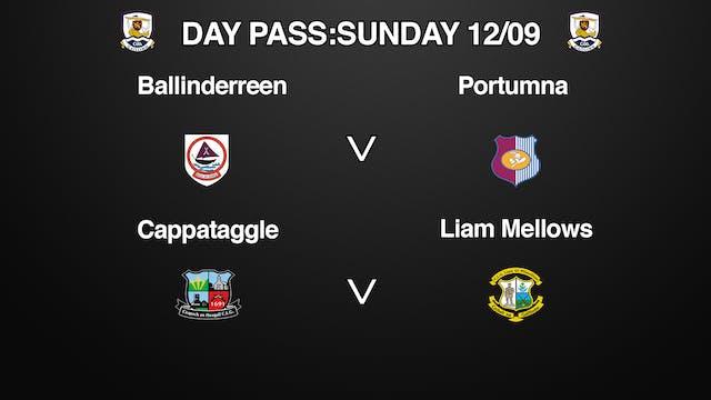 GALWAY SHC 2 Game Day Pass Sunday 12/09