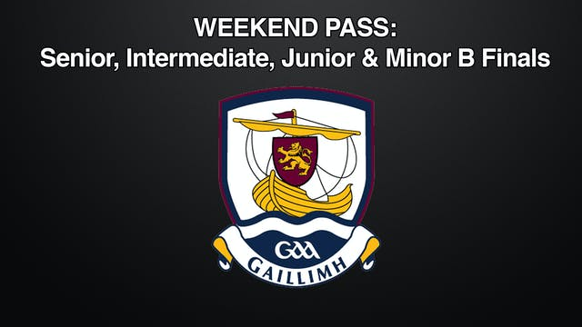 GALWAY Weekend Pass Football, 03/10-04/10