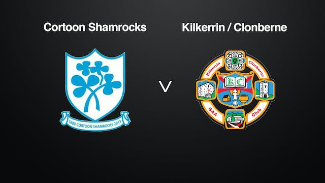 GALWAY IFC Final Cortoon Shamrocks v ...