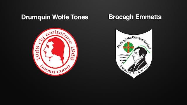 Tyrone JFC, Drumquin Wolfe Tones v Brocagh Emmetts