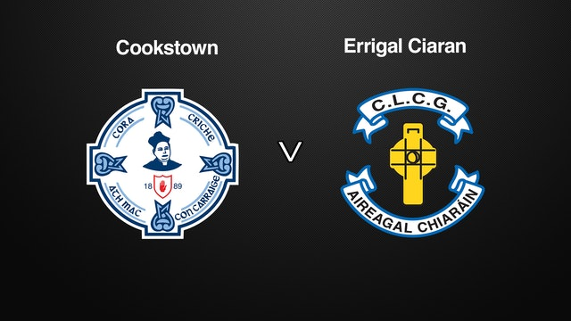 TYRONE JFC, Cookstown v Errigal Ciaran