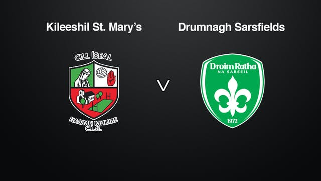 TYRONE JFC Killeeshil  v  Drumragh Sarsfields