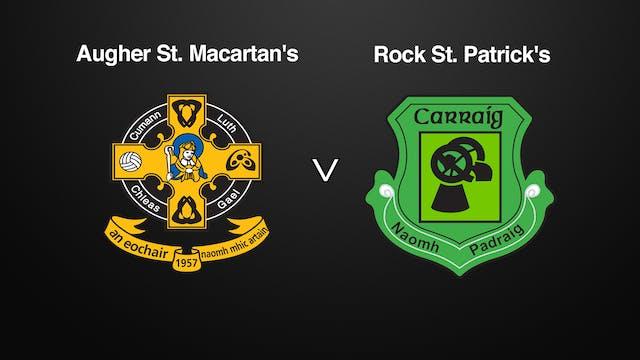 TYRONE IFC, Augher St. Macartan's v Rock St. Patrick's